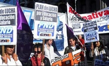 Federación Docente, CTA convocan a un paro nacional en el inicio de clases