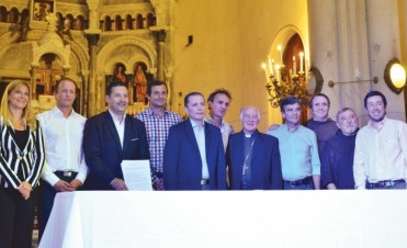 Eduardo Bucca participará del acto de ratificación del Pacto de San Antonio de padua