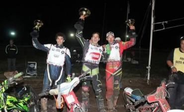 Maximiliano Westdorp se llevó el tercer puesto en el Campeonato Internacional de Speedway