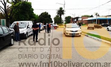 Accidente en Lavalle y 3 de Febrero: Una mujer hospitalizada