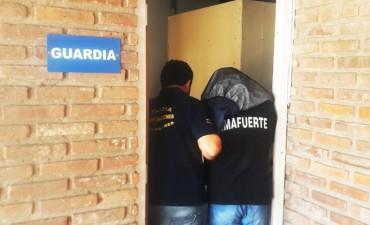 Parte Oficial de la detención de Lucas Díaz