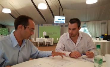 Pisano presentó proyectos en el Ministerio de Infraestructura y Servicios Públicos