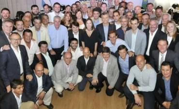 Galli, Cellillo y Salomón participaron del Foro Cambiemos que contó con la presencia de Macri y Vidal