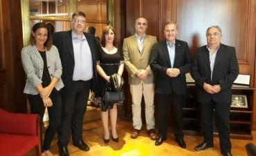 Integrantes de la Cámara Comercial e Industrial de Bolívar mantuvo una reunión con autoridades de CAME
