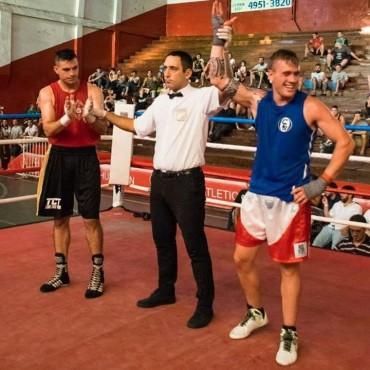 Boxeo: Federico Dotti triunfó en la Liga Metropolina