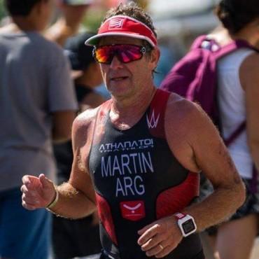 Atletismo: Excelente actuación de Rubén Martín de la carrera medio IronMan en Mar del Plata