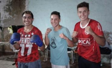 Los púgiles bolivarenses preparados para el Festival Boxístico en el Complejo República Venezuela