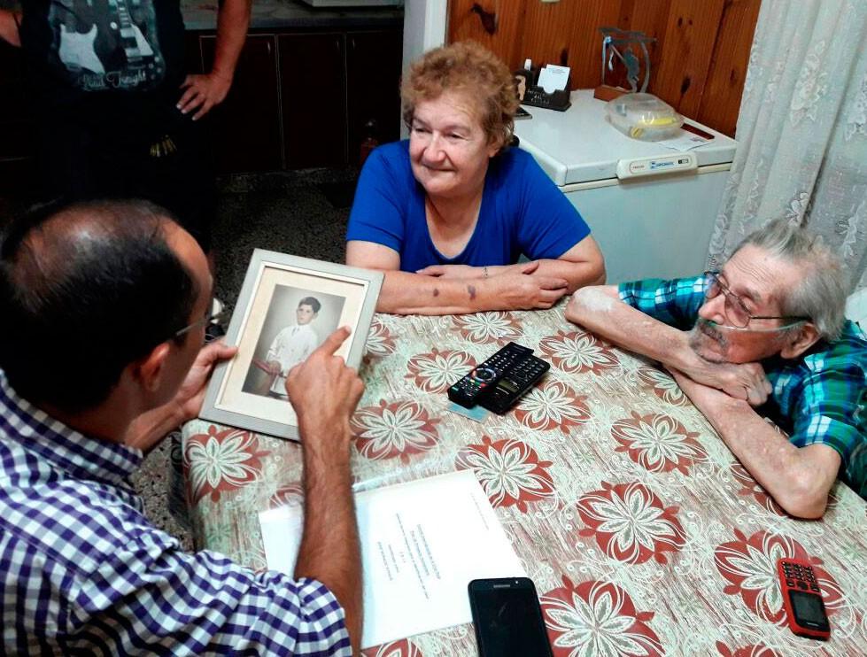 Nélida Montoya: 'No me imaginaba que esa tumba fuera la de mi hijo'