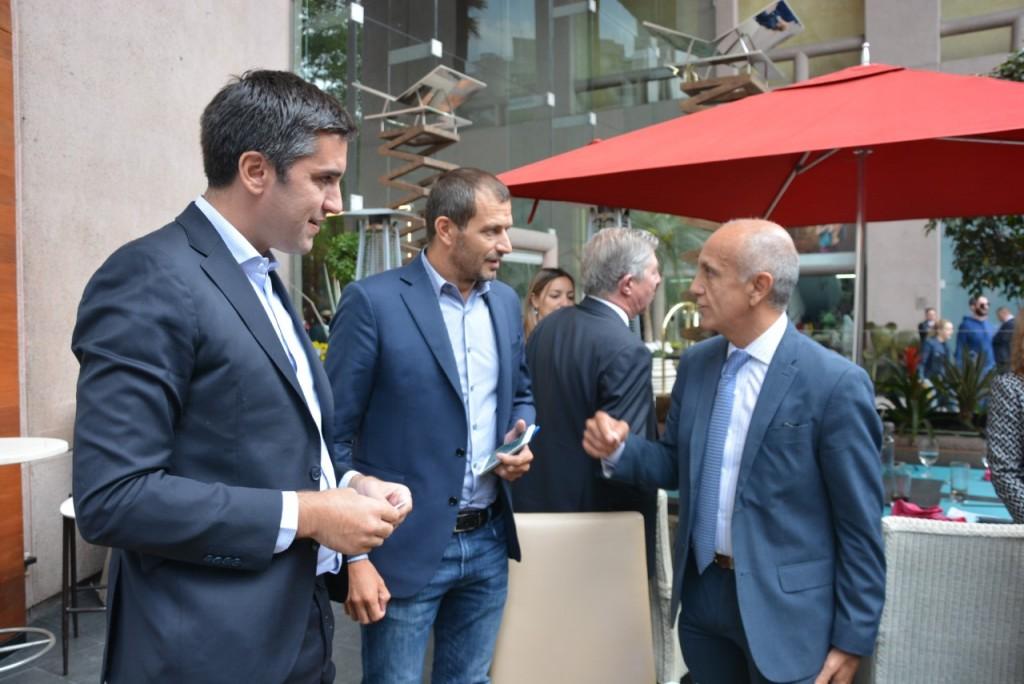 Mosca y Bucca se reunieron con empresarios en México
