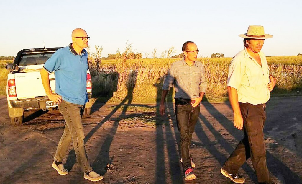 El intendente Pisano recorrió el camino a Miramar