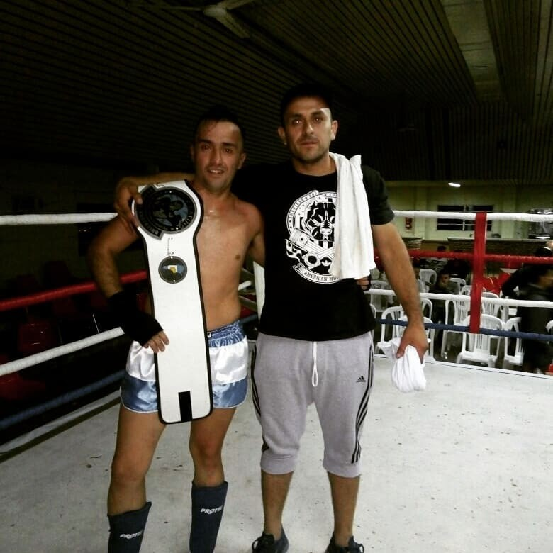 Santiago González es campeón argentino de K-Box