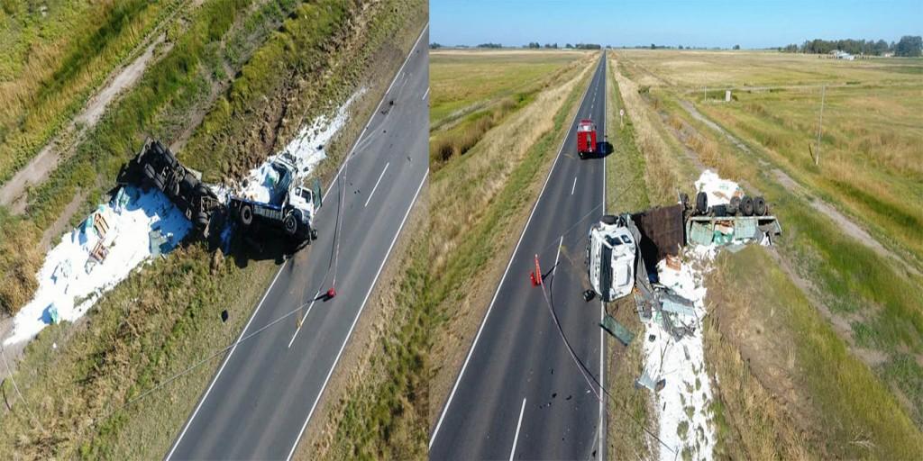 Daireaux: Un muerto en un accidente en ruta 65