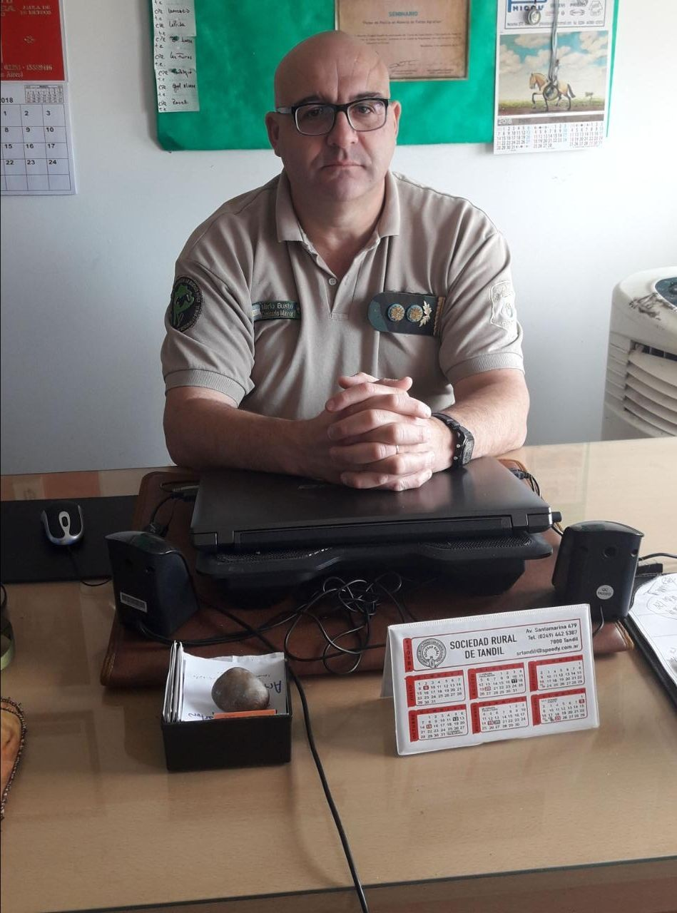 Inseguridad Rural: Productores se reunieron con el Jefe de los CPR