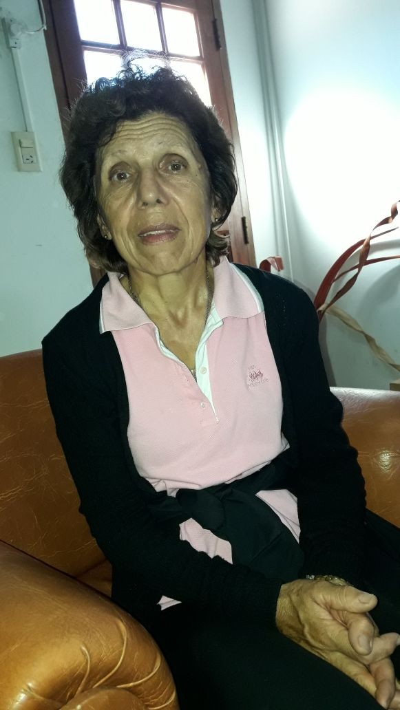 Josefina Pisano: 'Como ciudadana tengo derecho a salir de mi casa'