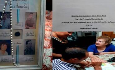 Marcos Pisano se entrevistó con la familia de Horacio Echave, el soldado nativo de Bolívar que murió en Malvinas
