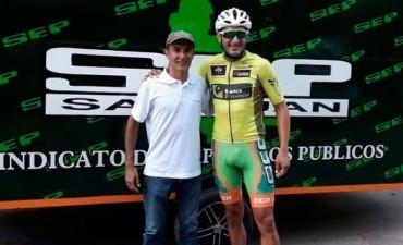 Marcos Pisano acompañó a Juan Pablo Dotti en Bragado