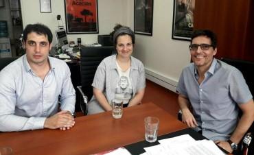 Nadia Marchione se reunió con autoridades del INCAA