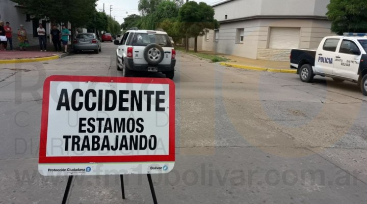 Gral Paz y Uriburu: Una mujer resultó con doble fractura