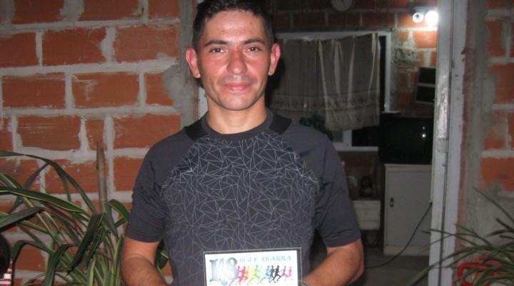 Gustavo Bussa terminó 1° en la carrera de 8k en Ibarra