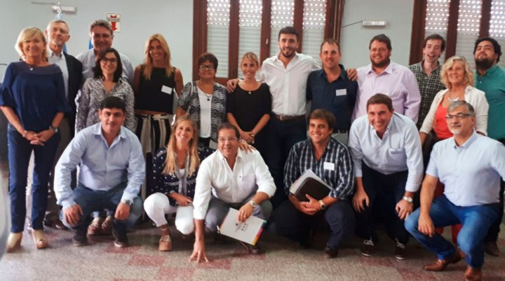 José Erreca participó del encuentro de concejales de Cambiemos