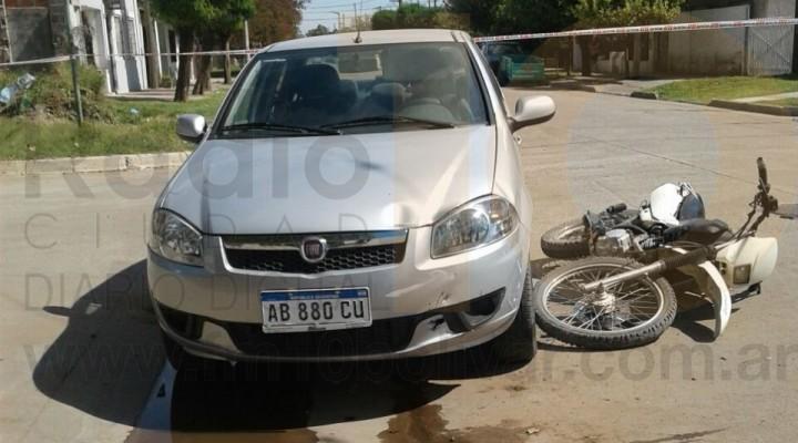 Accidente en Güemes y Rafael Obligado: Tres personas fueron trasladadas al Hospital