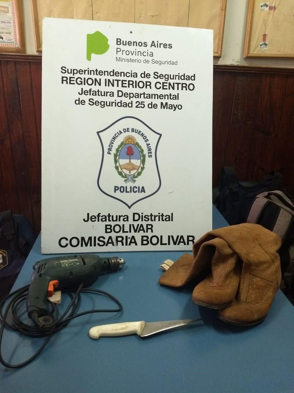 Parte de prensa Comisaria de Bolívar sobre últimos operativos
