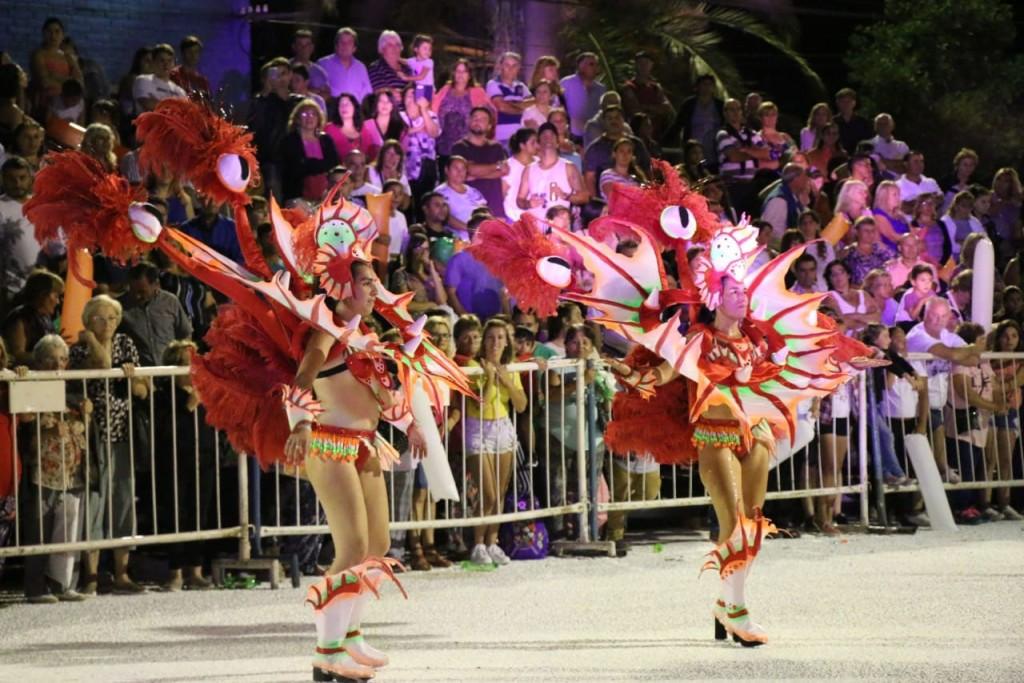 Carnavales 2019: Mirú Mirá de 25 De Mayo cerró la noche ante un gran marco de público
