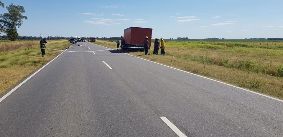 Bonifacio: Accidente fatal en Ruta 65 Km 382