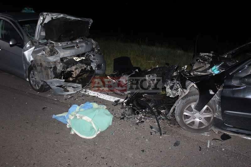 Azul: Dos fallecidas en el choque frontal de Ruta 226 Km 217