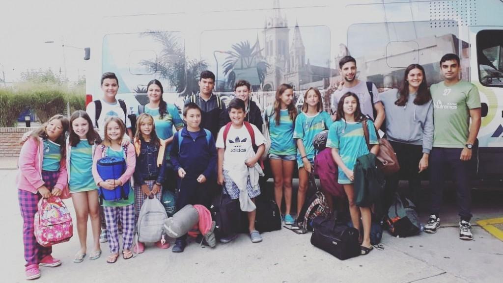 La Escuela de Natación Municipal vivió un gran fin de semana en Chivilcoy