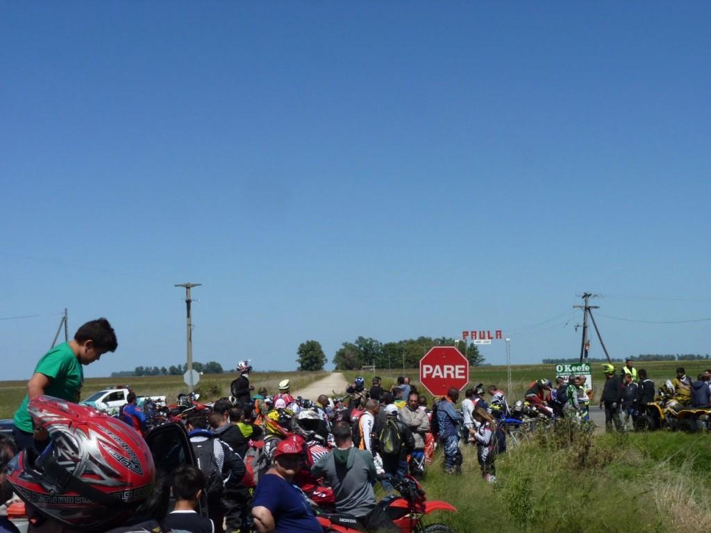 La travesía solidaria organizada por Enduro Bolívar fue todo un éxito