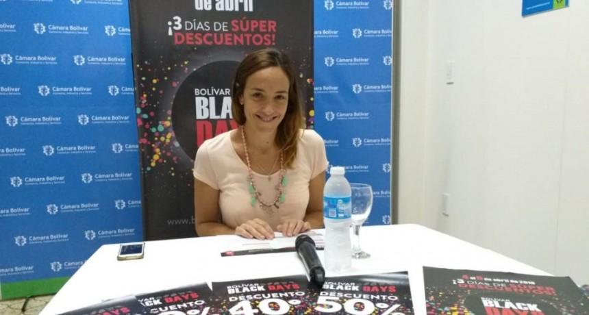 Bolívar Black Day de la Cámara Comercial; del 4 al 6 de abril