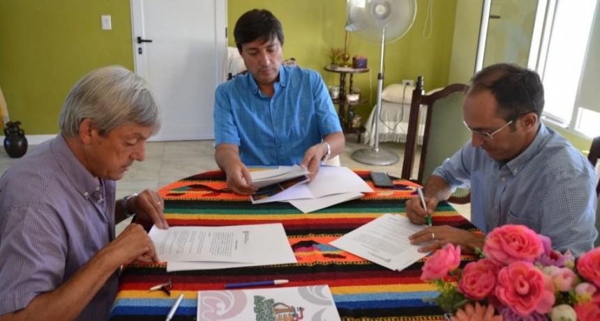 Pisano se reunió con Acerbo y Cortés
