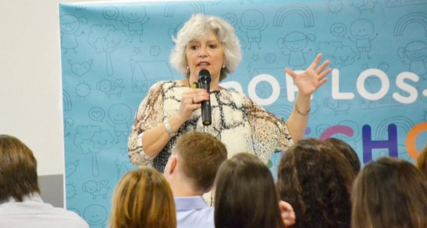 La Dirección de Niñez brindó una capacitación sobre Niñez y Adolescencia