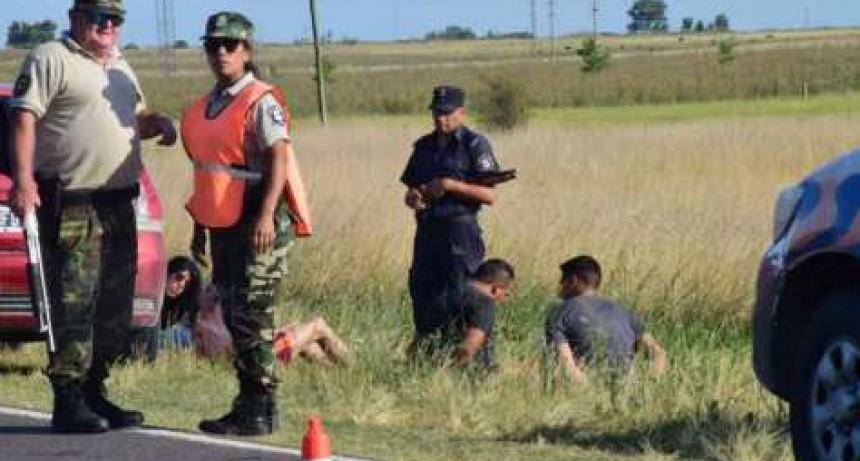 Cuatro sujetos robaron en Espigas y los atraparon en Olavarría