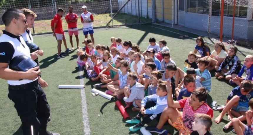 La Agencia de Seguridad Vial finalizó su recorrido educativo en el Club Estudiantes