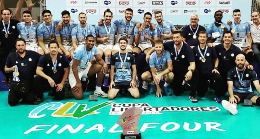 Histórico: Bolívar Vóley Campeón de la Copa Libertadores de Vóleibol