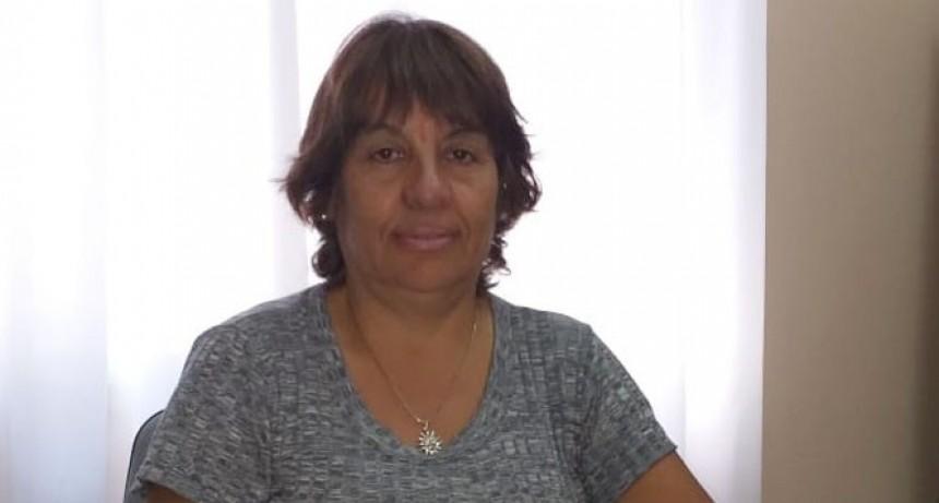 Nancy Álvarez: 'Es un desafío, pero es una actividad que me gusta, por eso acepte'