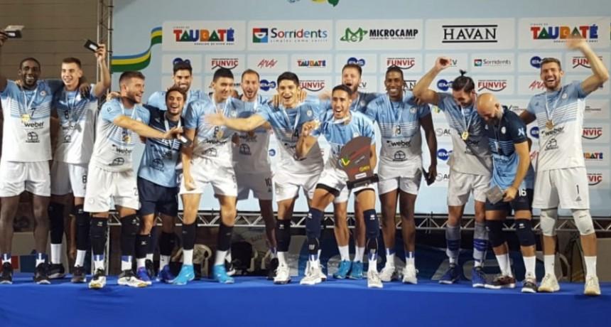 Las voces de Bolívar Vóley campeón de la Copa Libertadores
