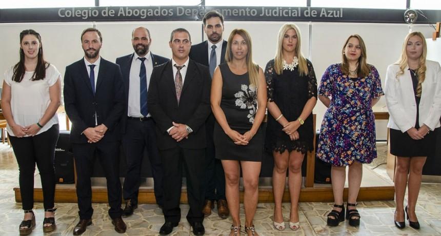 Tres abogadas bolivarenses juraron como nuevas matriculadas