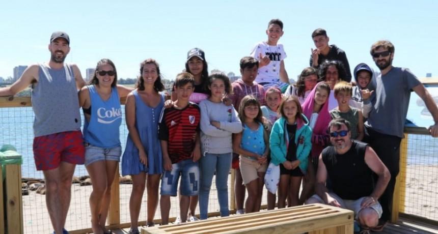 El DIAT visitó la Casa Caracol de Mar del Plata