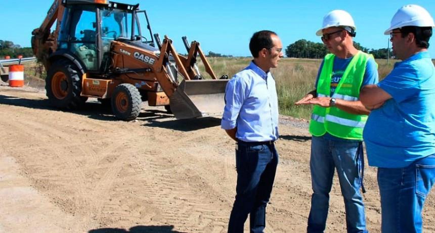 Marcos Pisano: 'Esta obra hídrica es de vital importancia para los productores'