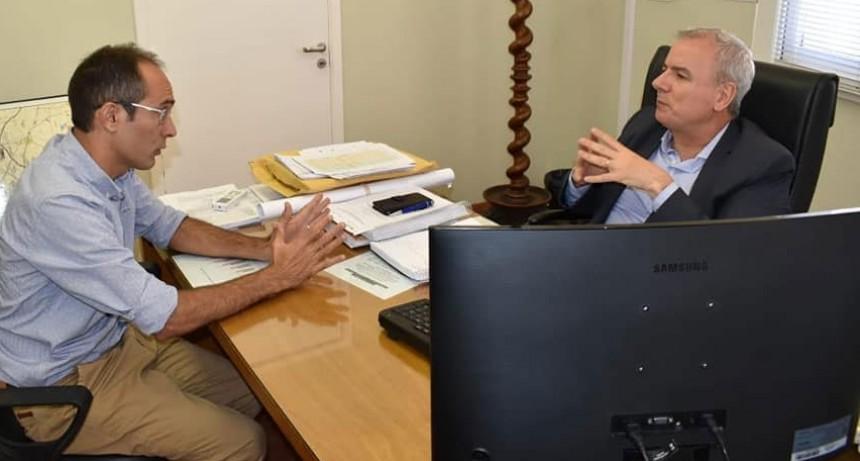 Pisano se reunió en provincia con Linari y Perera