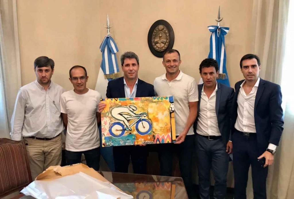 El Intendente Pisano se reunió con el gobernador Uñac en San Juan