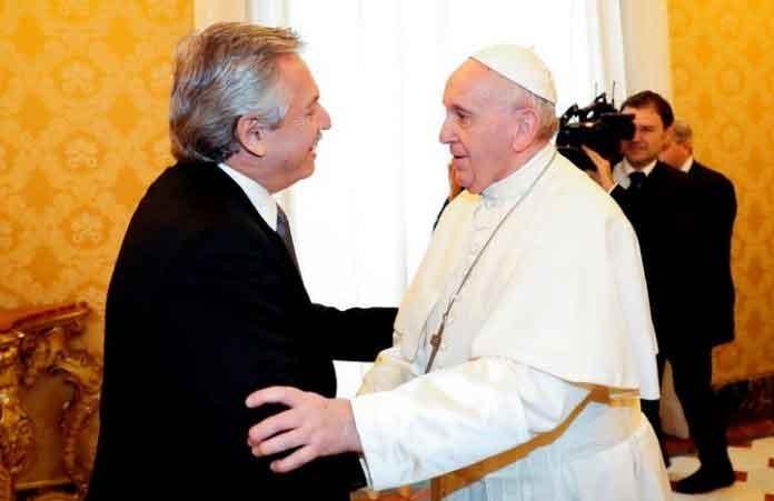 Alberto Fernández se reunió con el Papa y hablaron durante 44 minutos