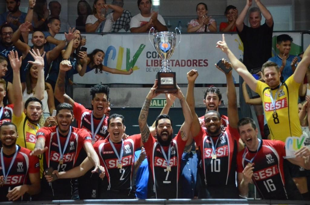 Copa Libertadores: SESI de San Pablo es el nuevo campeón