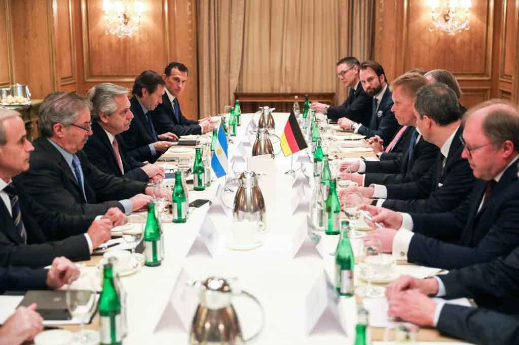 El presidente Fernández se reunió con líderes de empresas alemanas que invierten en Argentina