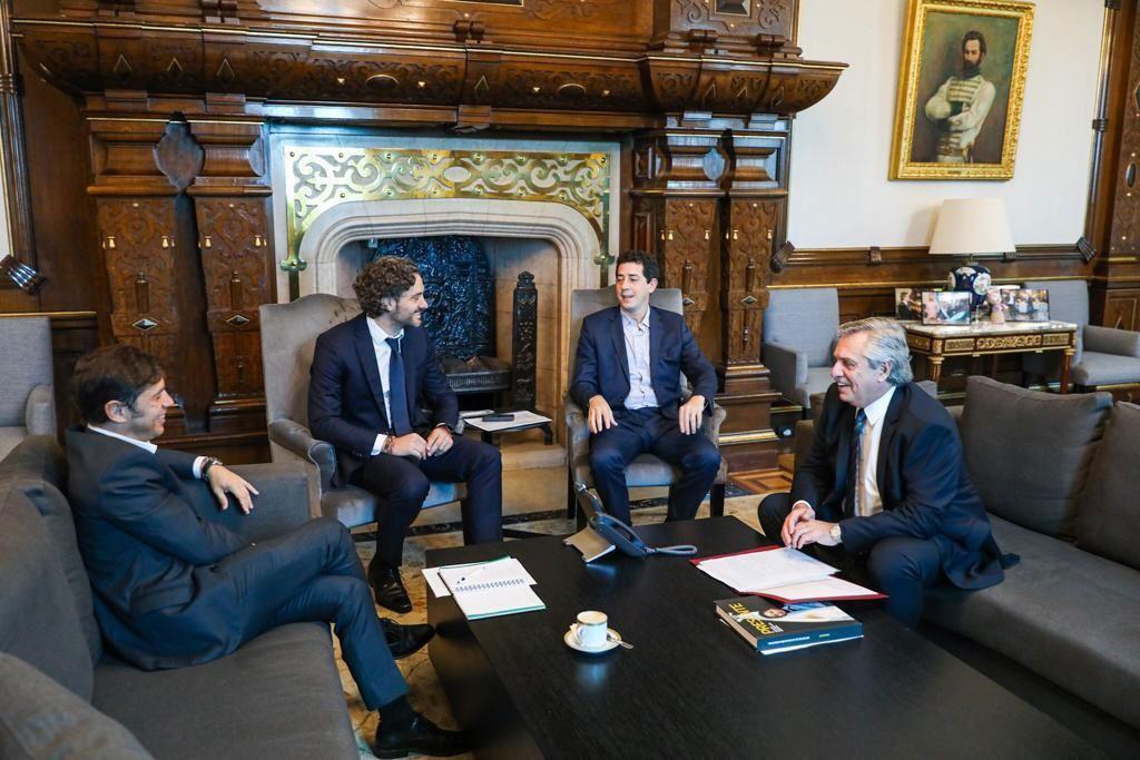 El Presidente recibió al gobernador de la provincia de Buenos Aires