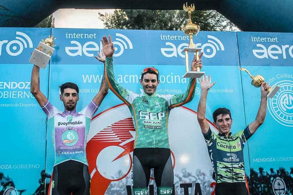 Dotti ganó en Mendoza y sueña con otra Vuelta