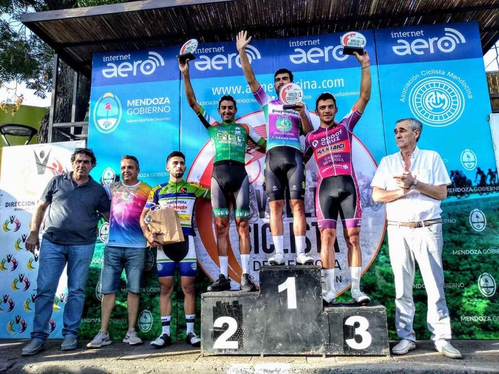 Vuelta de Mendoza; Dotti se afirma como líder de la general habiendo quedado 2º en la segunda etapa